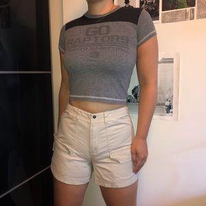 Reitmans cargo khaki shorts